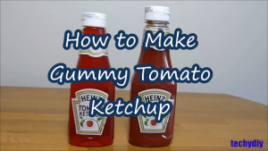 How to make gummy tomato ketchup Jelly pudding