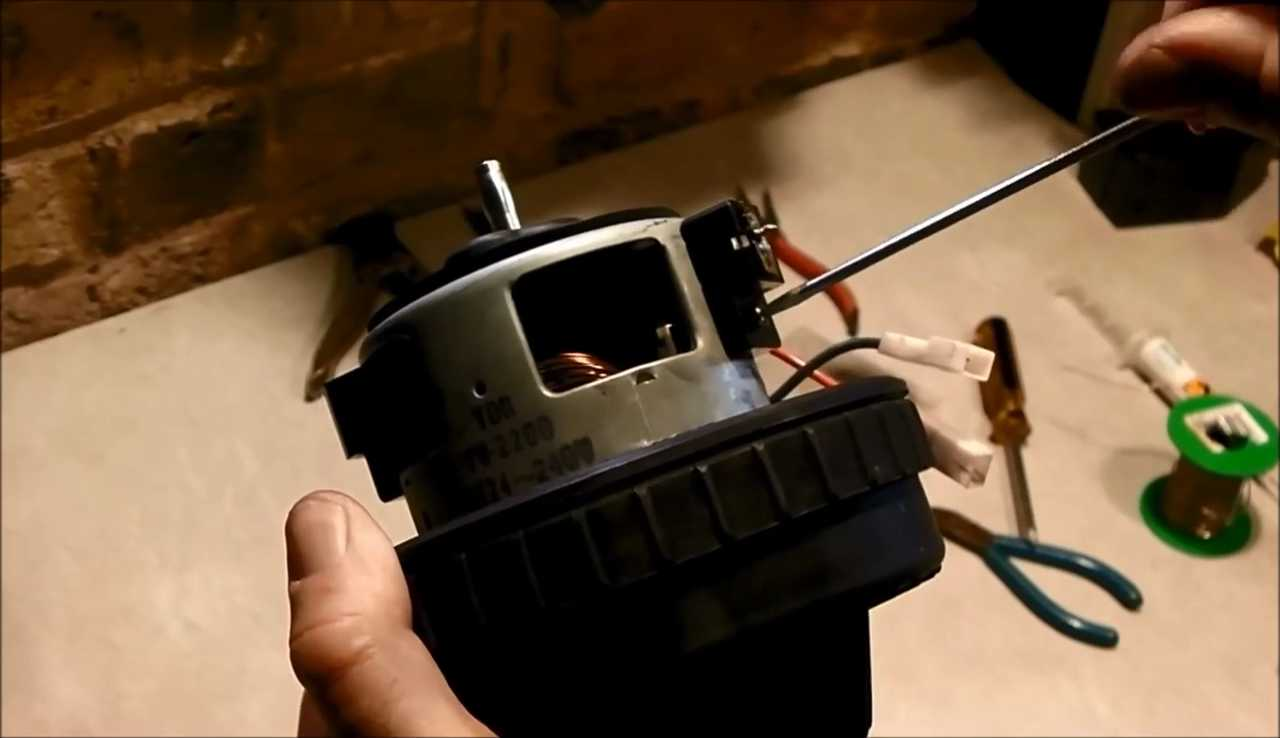 Replace Carbon Brushes Dyson Electric Motor Techydiy