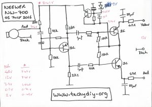 Neewer NW-700 circuit diagram