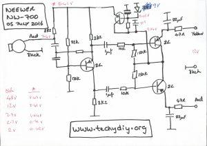 Neewer NW-700 circuit diagram