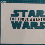 Star Wars Led Edge Lit SIgn - Stencil