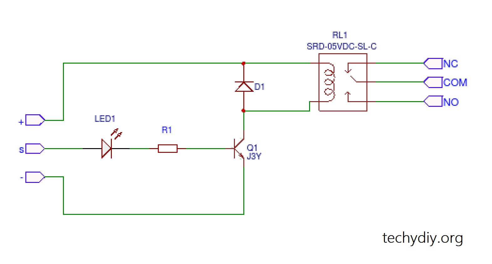 Keyes-SR1y circuit diagram