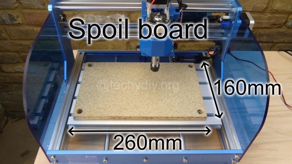 Sainsmart 3018-Prover spoil board dimensions