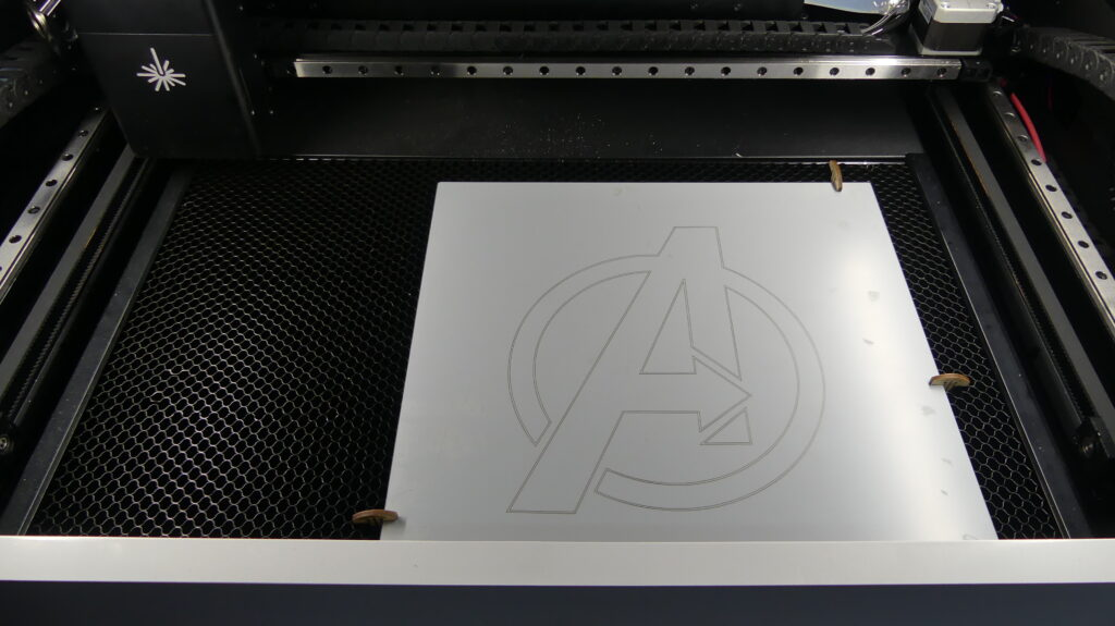 Laserbox Pro Engraving Mirror