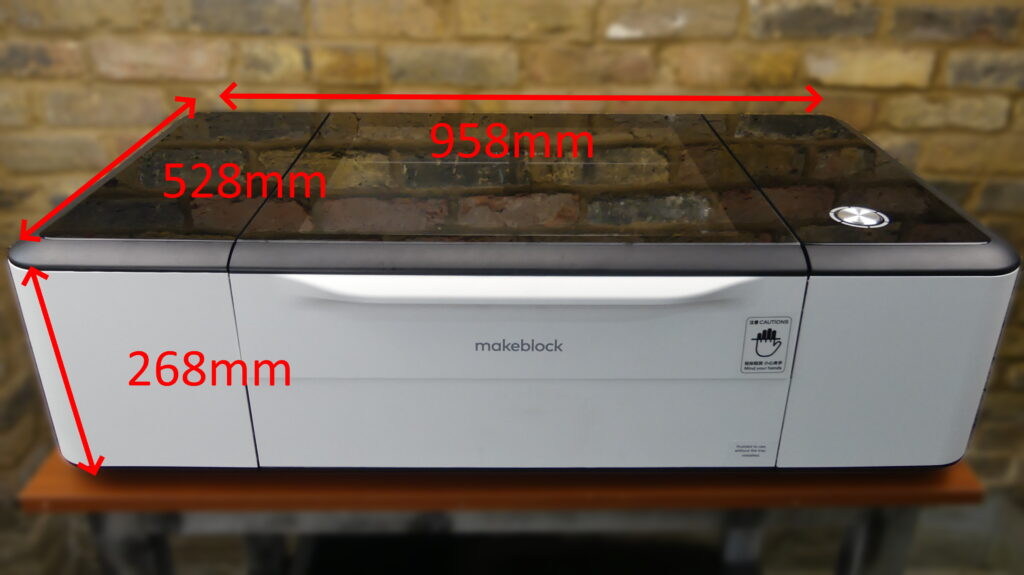 Laserbox Pro Dimensions